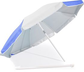 St Umbrella - Beach Umbrella - Royal Blue and White