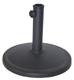 St Umbrella - Resin Base - Black