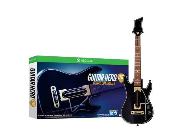 guitar hero live stand alone guitar xbox one buy online in south africa. Black Bedroom Furniture Sets. Home Design Ideas