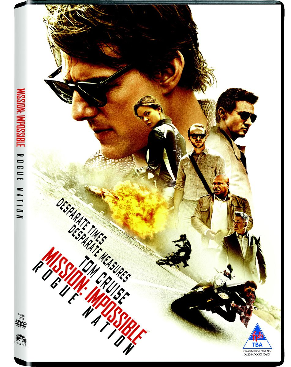 mission impossible rogue nation dvd buy   south africa takealotcom