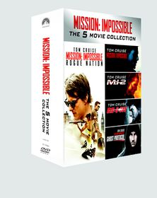 Mission Impossible 1 - 5 (DVD)
