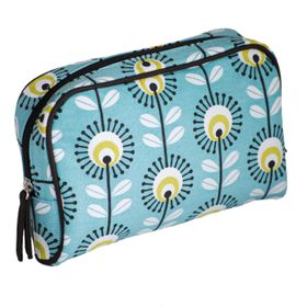 Make up Bag - Blue Pincushion