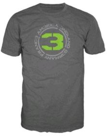 Call of Duty MW3 - Logo + Countries [Anthracite] T-Shirt (Medium)