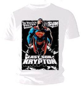 Superman - Last Son Comic T-Shirt (X-Large)