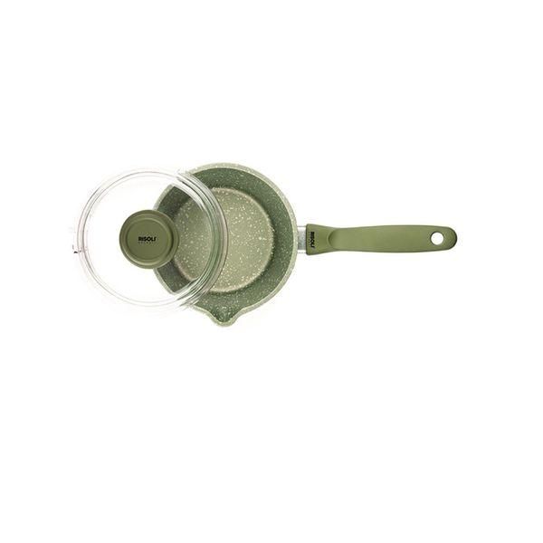 Risoli Dr Green Non-Stick 16cm Saucepot With Glasslid
