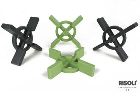 Risoli - Dr Green Silicon Pot Protector Stand - Green