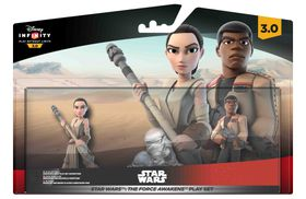 Disney Infinity 3.0 Character - The Force Awakens Play Set (Ray, Finn & Playset)