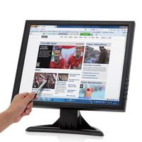 "17"" High Res Touch Screen LCD Monitor"