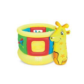 Bestway - Jumping Tube Gym & Bop Bag - Giraffe