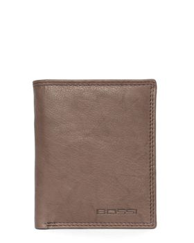 Bossi Leather Bill Wallet in Brown