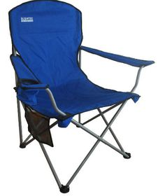 Bushtec Promotion Oversize Folding Chair - Blue