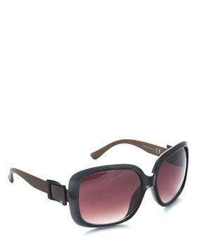 Bad Girl Hollywood Sunglasses in Black and Bronze