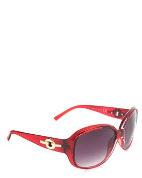 Bad Girl Flat Out Fab Sunglasses in Red