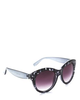 Bad Girl Funfair Sunglasses in Grey and Clear