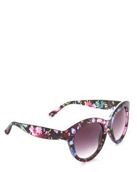 Bad Girl Sunglasses - Floral & Black