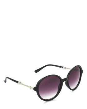 Bad Girl Scandal Sunglasses in Black and Silver