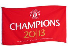 Manchester United F.C. Champions Flag