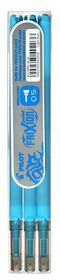 Pilot Frixion Point Erasable Pen Refills - 0.5mm Light Blue (3 Pack)