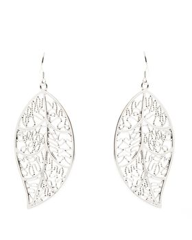 Unexpected Box Leaf earrings