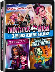 Monster High Boxset 1 (DVD)