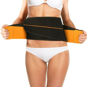 Homemark Perfect Shaper Double Compression Velcro Waist Belt - Small/Medium