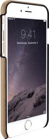 Just Mobile Quattro Back Leather Case for iPhone 6/6s - Beige