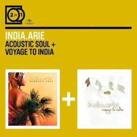 India Arie - 2 For 1: Acoustic Soul/Voyage To India (CD)