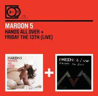 Maroon 5 - 2 For 1: Hands All Over / Live Friday The 13th (CD)