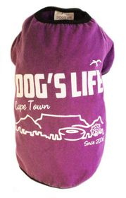 Dogs Life - Cape Town 2006 Purple - 2 x Extra-Large