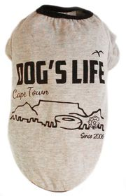 Dog's Life - Cape Town 2006 Grey - Extra Small
