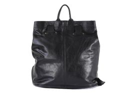 King Kong Leather 2in1 Leather Back Pack - Black