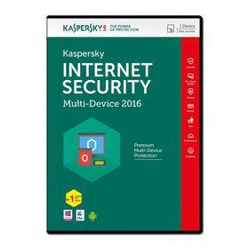 Kaspersky Internet Security 2016 -  1 Device (Plus 1 Device Free)