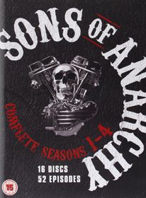 Sons of Anarchy - Series 1-4 - Complete (DVD)