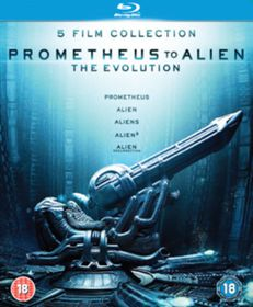 Prometheus to Alien: The Evolution Box Set (Parallel Import - Blu-ray)