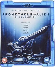 Prometheus to Alien: The Evolution Box Set (Parallel Import - Blu-ray)