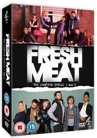 Fresh Meat - Series 1 And 2 - Complete (DVD)