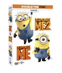 Despicable Me / Despicable Me 2 (DVD)