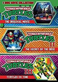 Teenage Mutant Ninja Turtles - The Movie Collection (DVD)