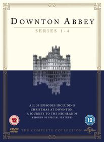 Downton Abbey: Series 1-4 (DVD)