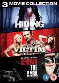 Horror Triple - Hiding / The Victim / Beneath The Dark (DVD)