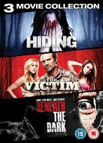 Horror Triple - Hiding / The Victim / Beneath The Dark (DVD)