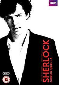 Sherlock - Series 1-3 2010 (DVD)