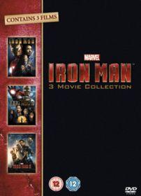 Iron Man 1-3 Trilogy (DVD)