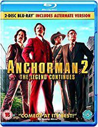 Anchorman Two Movie Set Blu ray (Blu-ray)