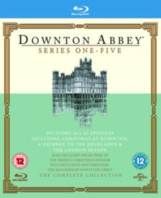 Downton Abbey: Series 1-5 - Complete (Blu-Ray)