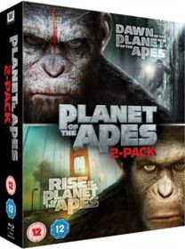 Rise Of The Planet Of The Apes / Dawn Of The Planet Of The Apes (Blu-Ray)