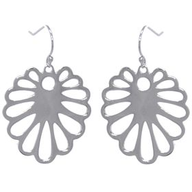 Aloe Flower Earrings - Sterling Silver