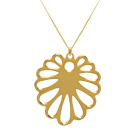Aloe Flower Necklace - Yellow Gold