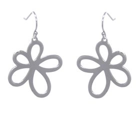 Jasmine Flower Earrings - Sterling Silver