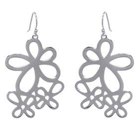 Jasmine Posy Flower Earrings - Sterling Silver